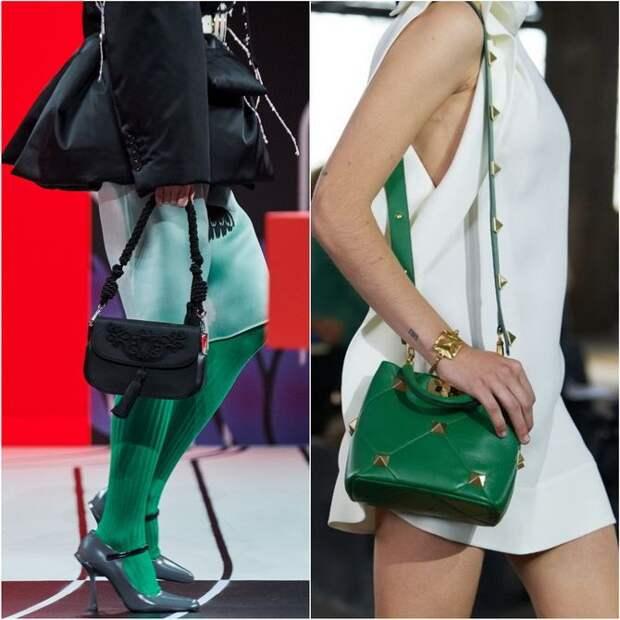 С чем носить зеленый цвет: фото и модные тенденции 2021 года