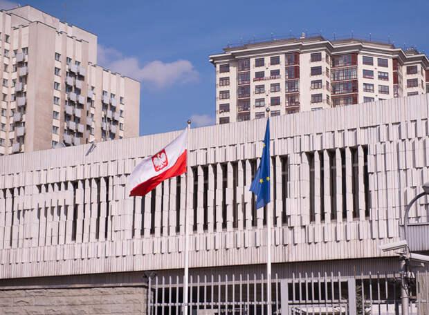 Россия вышлет из страны пять польских дипломатов