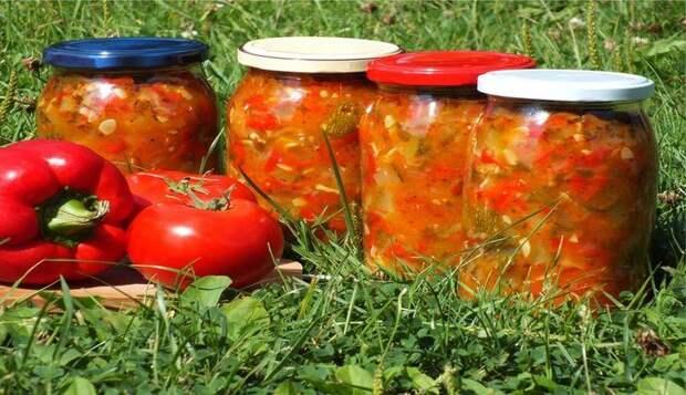 Кабачки на зиму: лечо из кабачков и болгарского перца