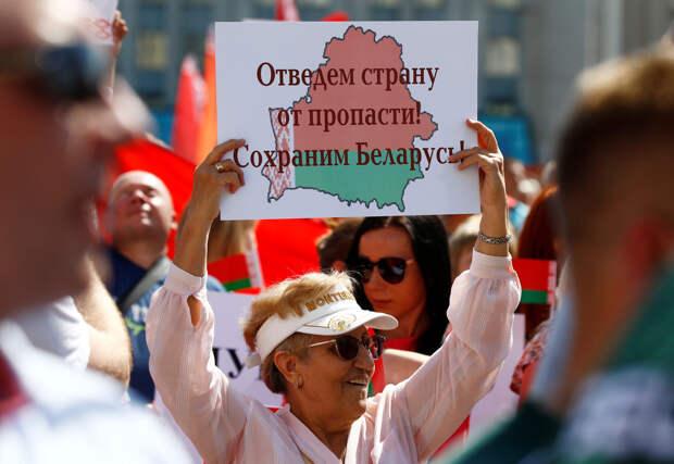 Параллельные прямые власти и оппозиции в Белоруссии
