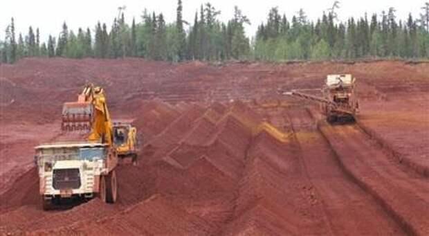"""""""РУСАЛ"""" ввел в эксплуатацию новый карьер на руднике в Коми с запасами более 14 млн тонн бокситов"""