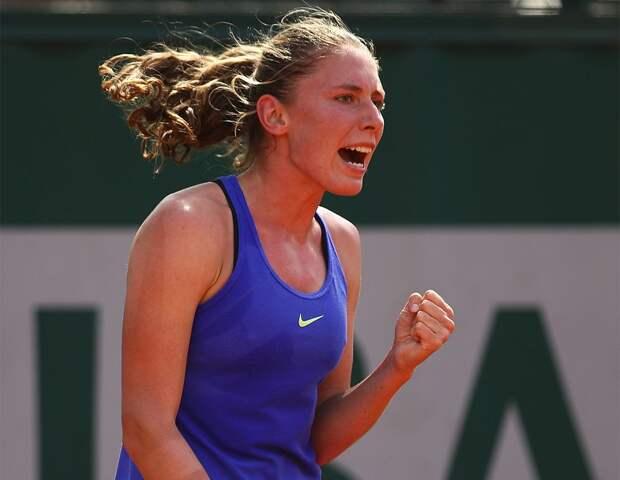 Александрова вышла в полуфинал турнира в Линце
