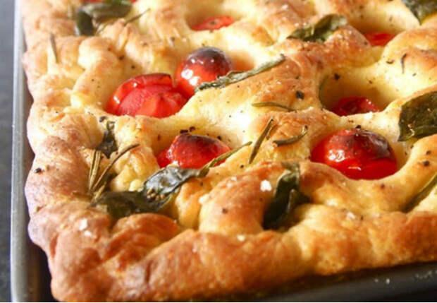 Итальянская фокачча по рецепту Гордона Рамзи: заменяем надоевший хлеб