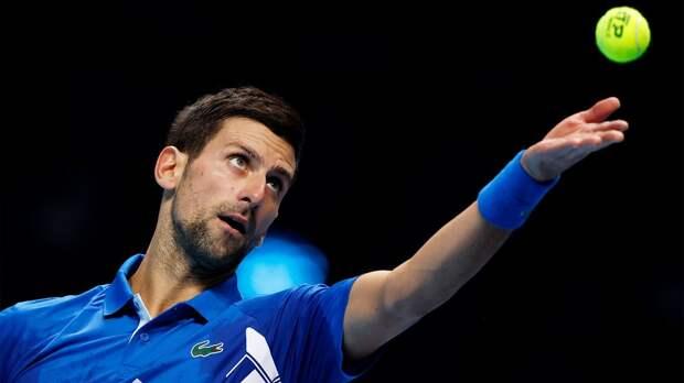 Джокович начал защиту титула на Australian Open с победы над Шарди