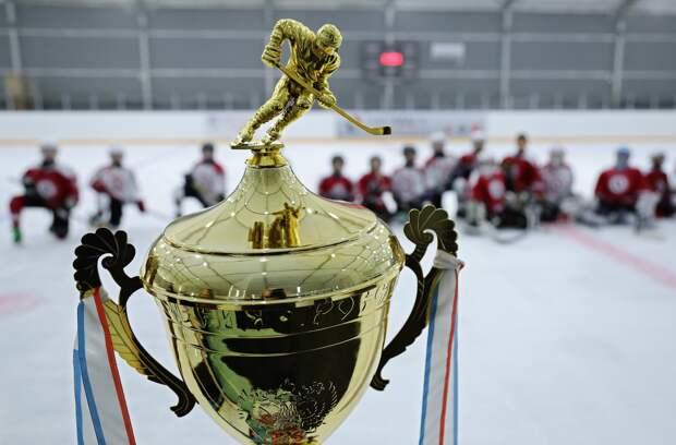 Аксёнов наградил участников детской хоккейной команды, победивших во всероссийском турнире в Казани