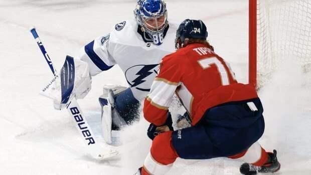 Три очка Кучерова принесли «Тампе» победу над «Флоридой» вплей-офф НХЛ