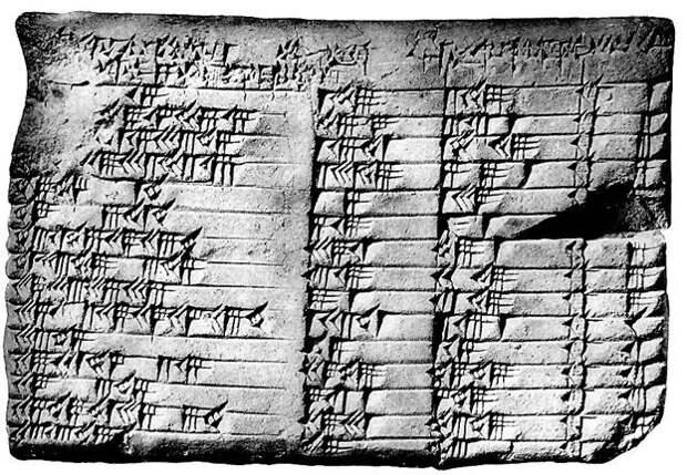 Шедевр древневавилонской математики
