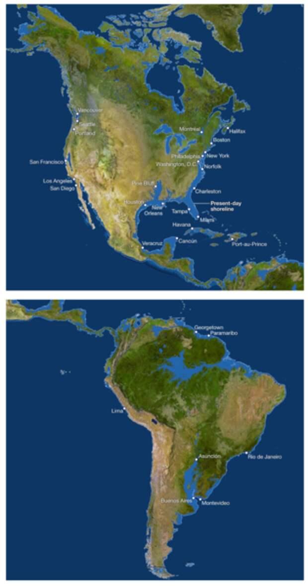 Какие страны утонут первыми