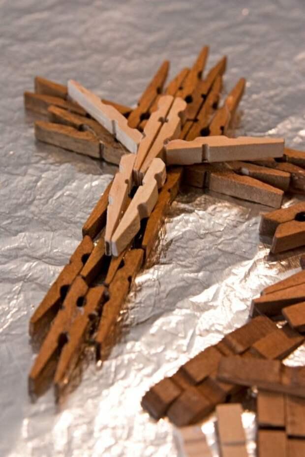 Деревянные прищепки — золото! 30 секретных идей для интерьера