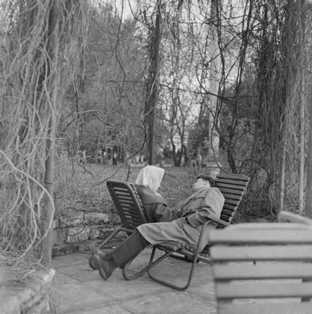 Центральный парк культуры и отдыха имени Максима Горького. Автор: Эрвин Волков, 1961 год.