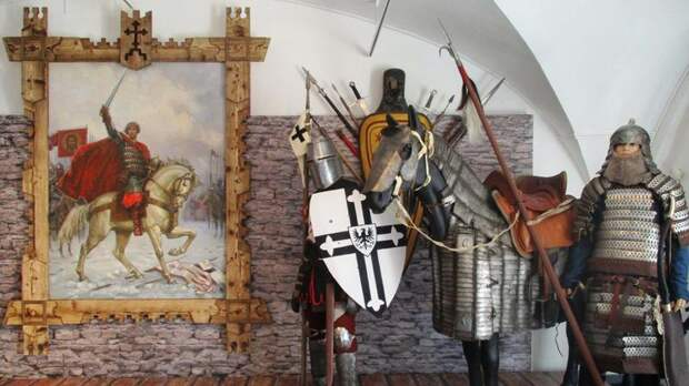 «Воин и святой»: в Петербурге открылась выставка, посвящённая Александру Невскому