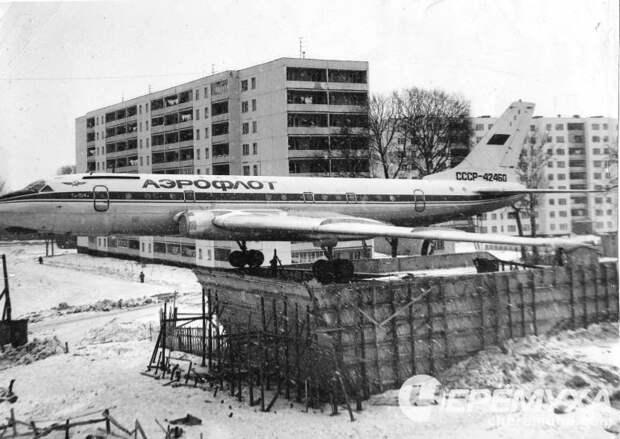 Ту-104 в Рыбинске...