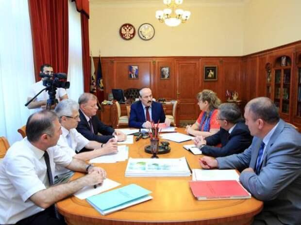 Глава Дагестана: «Мы должны жить за счет использования собственных ресурсов — источников развития»