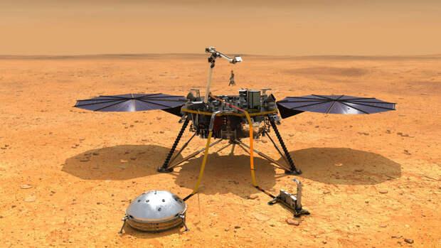 В NASA отреагировали на первую посадку китайского зонда на Марс