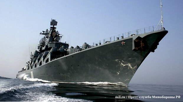 Трюк ВМФ России спас китайские корабли от столкновения с флотом США