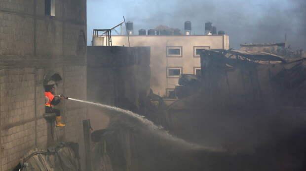 Посол Палестины назвал число жертв в Газе после обострения с Израилем