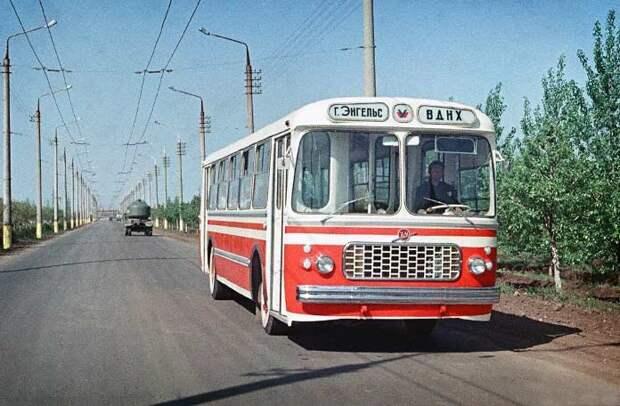 Самые красивые автобусы в СССР автобусы, история, это интересно