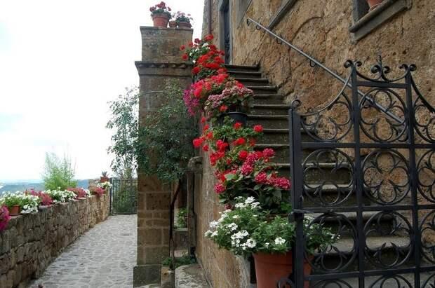Умирающий и красивый город - Чивита ди Баньореджо. Италия