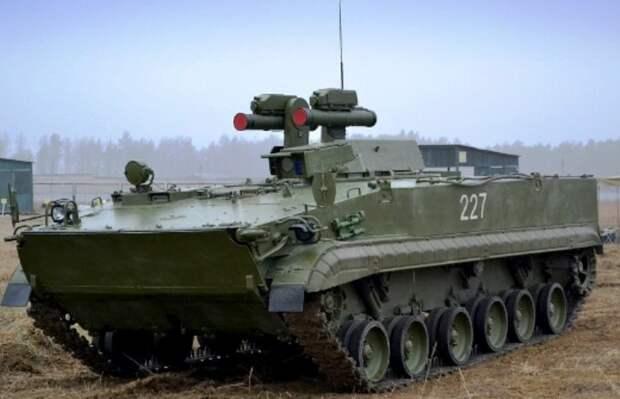 В войска поступила боевая машина 9П163-2