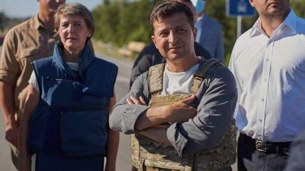 Зеленский рядом сграницей сРостовской областью встретился сбойцами ВСУ