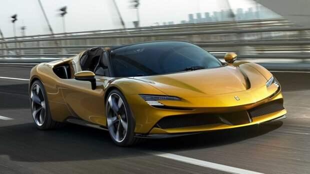 Компания Ferrari выйдет на рынок электрокаров в 2025 году