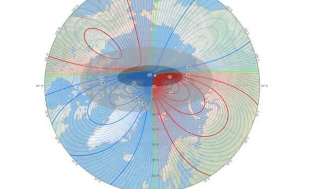 Северный Полюс движется в Сибирь: каждый день скорость растет