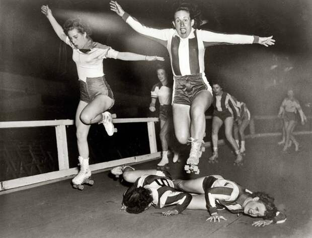 Женская лига роллеров-конькобежцев