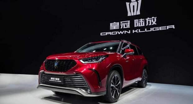 Toyota представила первый кроссовер в семействе Crown