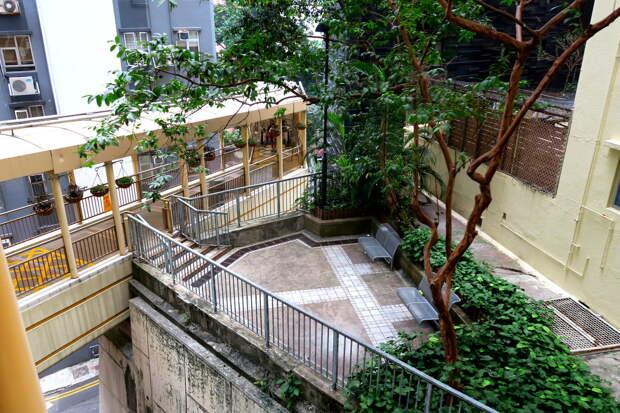 Гонконг в 3D: лестницы, террасы, трамвай