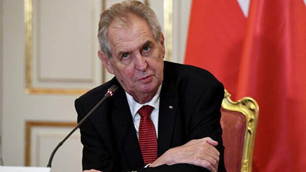 Президент Чехии извинился забомбардировки Югославии