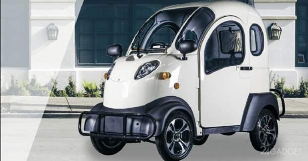 Представлен самый дешевый в мире электромобиль electricKar K5 по цене iPhone