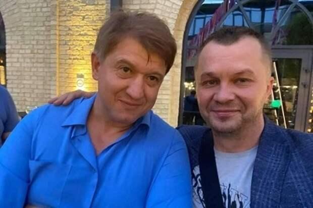 Соратник Зеленского получил в глаз от экс секретаря СНБО Украины  Данилюка