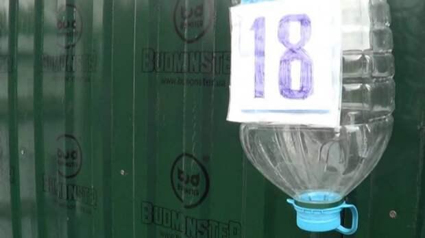 Почтовый ящик из пластиковой бутылки своими руками