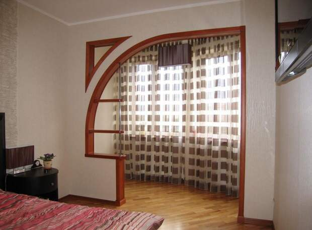 Зонирование комнаты с помощью перегородки из гипсокартона: фото, виды конструкций (58 фото)