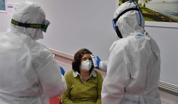 В России за сутки выявили почти 9 тысяч заразившихся COVID-19