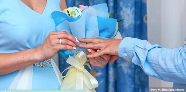 В Москве около 60 пар планируют зарегистрировать брак 7 января. Фото: М. Денисов mos.ru