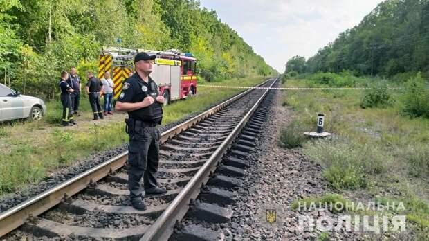 На Украине пытались взорвать поезд с топливом из Белоруссии