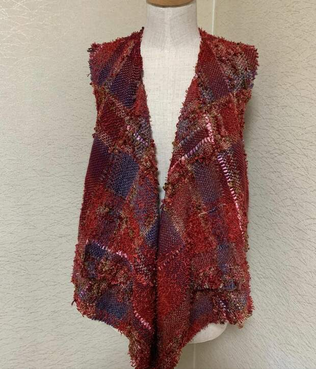 Ручное ткачество от Sakiori Hiroko