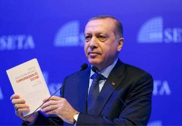 Эрдоган научит Германию демократии
