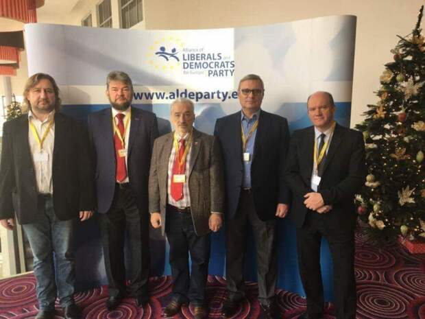 Касьянов посетил съезд «во имя Европы» в Варшаве