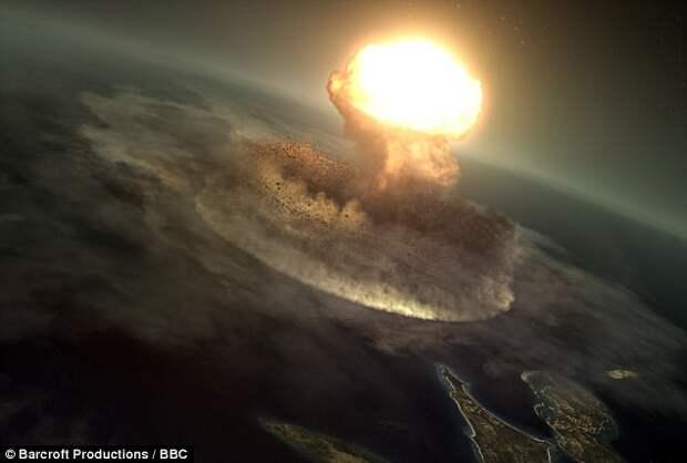 Ученые пробурили дно кратера Чиксулуб, который образовался от падения астероида, убившего динозавров