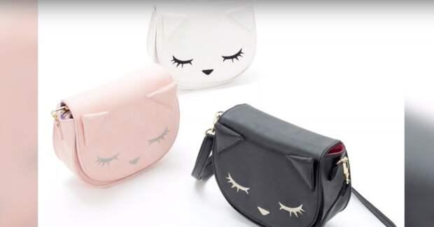 Милая сумка-котенок своими руками