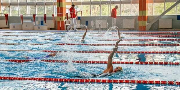 Посещение бассейна в спортивном комплексе на Ленинградке временно приостановят