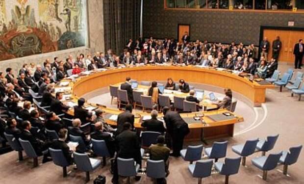 Совбез ООН отклонил проект резолюции России по ситуации в Украине