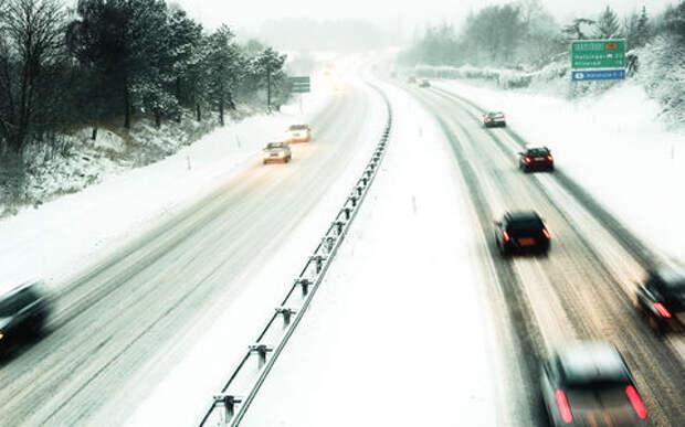 Пересек сплошную линию разметки, засыпанную снегом. Что мне будет?