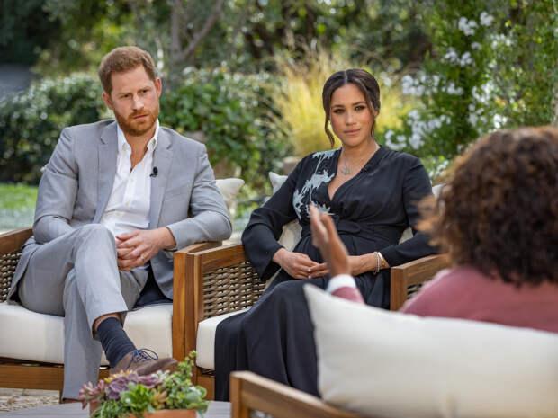 Гарри и Меган дают интервью