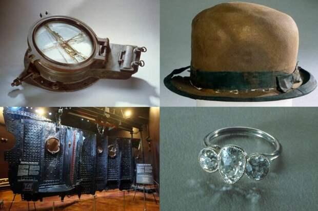 Вещи, найденные на борту «Титаника»