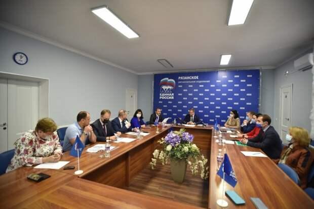 Губернатор отметил важность развития сел в Рязанской области