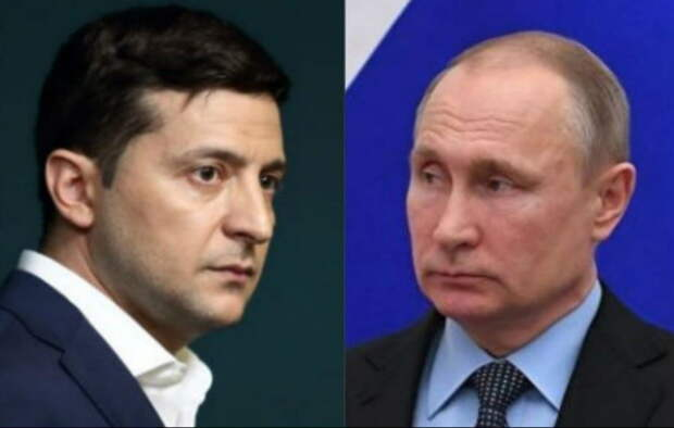 Зеленский позвонил Владимиру Путину по поводу Донбасса
