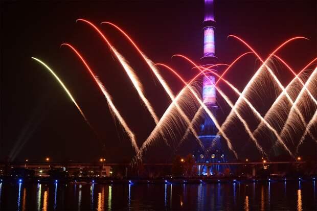 Художественное освещение украсит Останкинскую телебашню в новогодние каникулы
